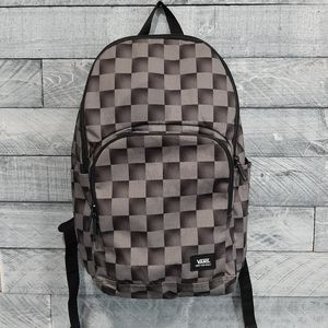 Vans Checkerboard Black/Grey Backpack